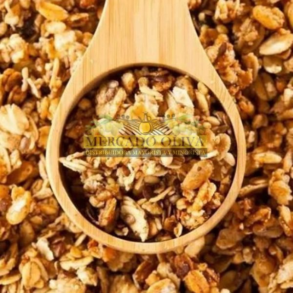 Mix Granola Avena Frutos Secos Energía Cereales